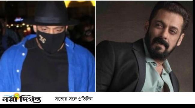 Salman Khan in mask debate again