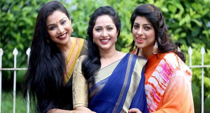 নাদিয়া, মৌ ও রুনা