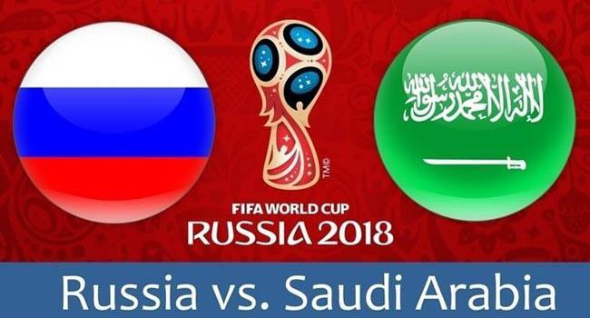 রাশিয়া, সৌদি আরব, বিশ্বকাপ, ফুটবল